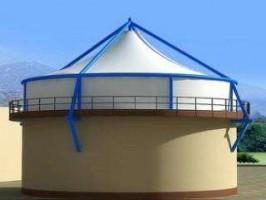 污水反吊膜结构